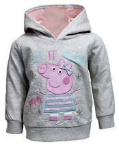 PEPPA PIG:*LET IT SNOW* HOODY,12-18M,18-24M,2/3,3/4,4/5,5/6,6/7YR,NEW WITH TAGS