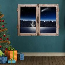 Adesiviamo Window Cometa Halley Comet Christmas Tree Wall Sticker Adesivo da