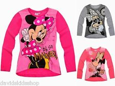 Shirt Disney Minnie Mouse Langarm riesige Motive Gr 92 104 116 128