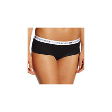 Tommy Hilfiger Womens Cotton Iconic Shorty Brief  - Black