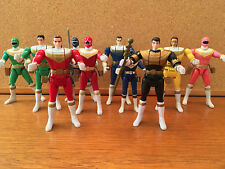 Collection Of  Power Rangers Zeo Rangers Including Flip Head Tommy Just Select 1