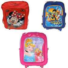 265 5019 MINNIE MOUSE,PRINCESA DISNEY Y PATRULLA CANINA TROLLEY MOCHILA ESCOLAR
