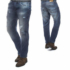 Jack & Jones Jeans JJIERIK JJTHOMAS AKM 970 Herren Anti Fit Denim Destroyed Blau