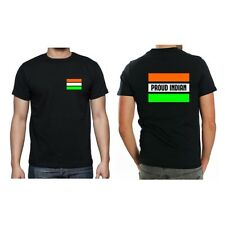 Proud Indian Men T-shirt With Back Print, Independence Day Indian T-shirt