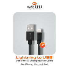 Amkette Charge/Sync 8 Pin Lightning to USB 1.5 M cable - Apple certified