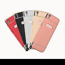 Luxury 3 in 1 Hard Plastic PC Electroplate Matte Back Cover for Oppo F1 Plus /R9