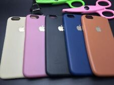 Luxury Leather Look Soft Rubberised Back Cover Case For Apple iPhone 5/5S