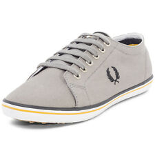 Fred Perry Kingston Twill Damen Sneakers Grey Neu Schuhe