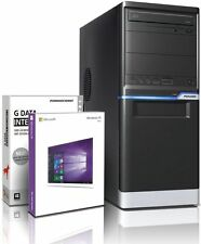 PC Dual Core Computer GAMER A6 5400K 8GB 500GB Rechner Komplett Windows 7 / 10