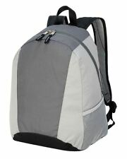 Shugon Tulsa Classic Backpack Daypack Rucksack School Bag Grey
