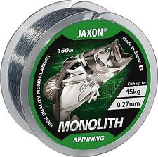 Jaxon Monolith Spinning fishing line 150m/ Pike/Course/Trout/Salmon