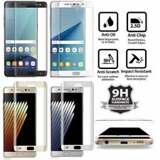 Samsung Galaxy Note 7 Full Cover Curved Premium Tempered Glass Screen Protector
