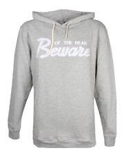 Grizzly Beware Of The Bear Hoodie Grey Gr. S-XL Pullover