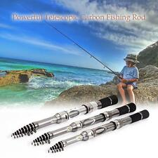 Telescopico Canne da Pesca di Mare Fibra di Carbonio Super Hard Fishing Rod K4B6