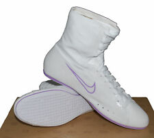 Womens Nike Delphia Mid White Canvas Hi Tops Boxing BRAND NEW