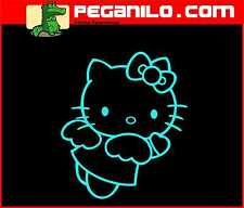 ADHESIVO PEGATINA VINILO STICKER AUFKLEBER DECAL AUTOCOLLANT VINYL HELLO KITTY