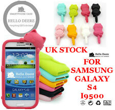 TENERO GATTO CUSTODIA / COVER SAMSUNG GALAXY S4 I9500 - Custodia Silicone