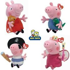 Peppa Pig TY - ty Beanie Babies Peluche Osito - Peluches