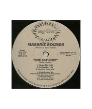 """[VX02798] Massive Sounds """"She Say Kuff""""  - 12, Old Nu Groove Records NG-010"""