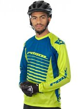 Maglia a maniche lunghe MTB Royal Racing 2016 Stage 2 Lime Verde-Blu Scuro