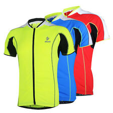 Arsuxeo Bike Bicycle Cycling Tops Clothing Men's Short Sleeves Cycling Jersey Sp