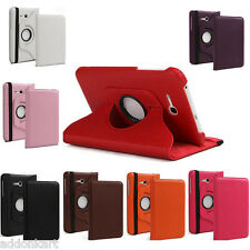 360 Degree Rotating PU Leather flip cover for Samsung Galaxy Tab 3 Neo Lite T111