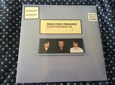Hmv Exclusive Manic Street Preachers Everything Must Go Sold Out Blue Vinyl