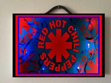 RED HOT CHILLI PEPPERS WOODEN STUDIO ALBUMS HANGING + STAND DOUBLE SIDE POSTER