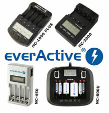 Chargeur Intelligent EverActive NC 1000 PLUS 3000 450 ou 900u Sélection TOP