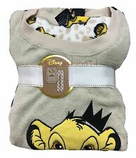 Ladies Womens The Lion King Fluffy Pyjama Set Fleece Long legs Primark