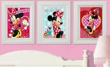 Disney  Minnie Mouse Picture Print Poster  wall bedroom (D)