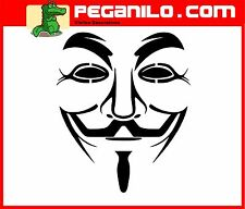 ADHESIVO PEGATINA VINILO STICKER AUFKLEBER AUTOCOLLANT DECAL ANONYMOUS MOD2