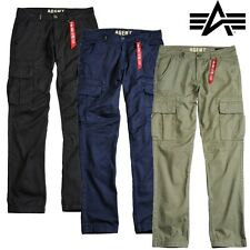 Alpha Industries Herren Hose Pants Agent Trousers Cargohose Cargo Outdoor BW NEU