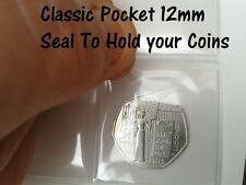 Classic Pocket Seals for Coin Album Pages - 12mm x 25mm - Stop Coins Falling Out