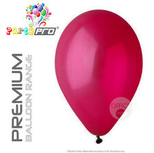 "PARTYPRO® - RED (WINE)- 10"" / 12"" PREMIUM LATEX BIRTHDAY PARTY BALLOONS"