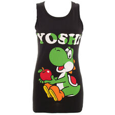 Official Nintendo Unisex Yoshi Vest Top - Video Game Mario Merchandise
