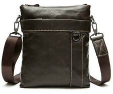 100% Genuine Leather Men Bag Messenger Bag Real Leather branded crossbody bag