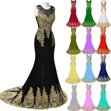 XMAS Formal Prom Evening Dress Long Gown Wedding Party Ball Cocktail Bridesmaid