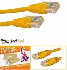 1M 2M 3M 5M 10M 15M 20M Network Ethernet RJ45 Cat5E LAN UTP PATCH Cable LAN Lot