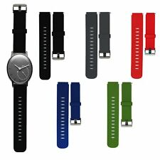 20MM Silicona Reloj Banda Sport Correa Para Withings Activite Pop Steel Sapphire