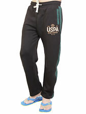U.S Polo Black & Green Slim fit Track pant/Lower For Men & Boys (Export Surplus)