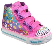 Skechers Twinkle Toes: Shuffles Chat Time Multi Girls Trainers