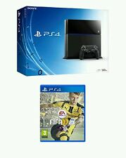 BRAND NEW SEALED PlayStation 4 500GB & BRAND NEW Fifa 17 & 3 Top Games Bundle!