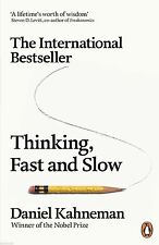 Thinking, Fast and Slow by Daniel Kahneman English Paper book