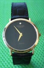 Gold Plated Raymond Weil Watch with Leather Watchband
