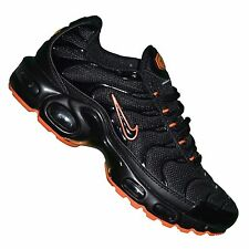 NIKE -- BASKET - HOMME - AIR MAX PLUS TN 02 - NOIR ORANGE NEUF