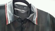 """Rubber/latex/gummi """"Fred Perry"""" POLO TOP gay/skinhead/BLUF/Rob-all sizes/zipped"""