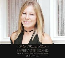 Barbra Streisand - What Matters Most (Deluxe Edition 2xCD) NEW & SEALED Digipak