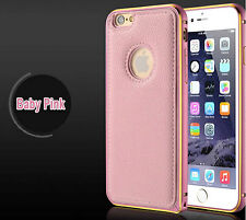 IPHONE 6 / 6S PROTECTION COQUE HOUSSE ETUI PORTEFEUILLE PARE-CHOCS SOLID ROSE