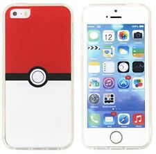 Pokemon Go Inspired Pikachu Phone Clear Case Cover for Apple iPhone 5S/5G/ 6/6S